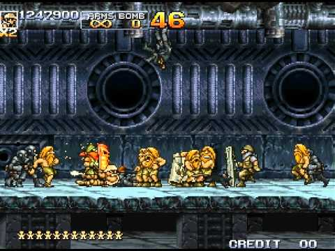metal slug neo geo cd rom