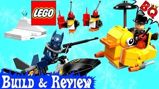 LEGO Batman Penguin Face Off 76010 DC Super Heroes Build & Review