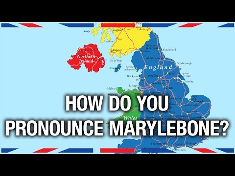 How to Pronounce UK Place Names