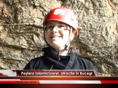 Peştera Ialomicioarei, atracție în Bucegi – VIDEO