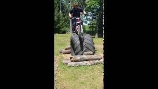 10. tire climb