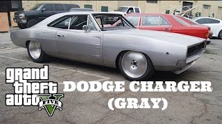Nonton GTA 5 - Fast and Furious 7 Car Build: Dodge Charger (Gray/Silver) Film Subtitle Indonesia Streaming Movie Download
