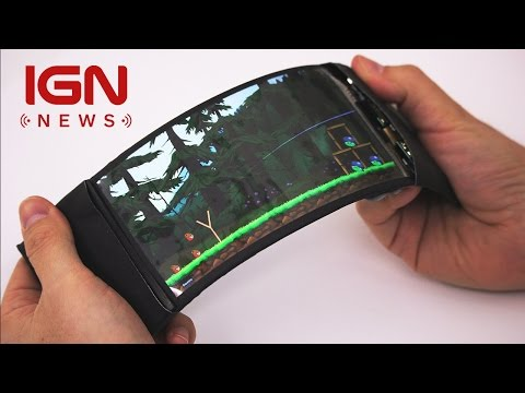 FLEXIBLE SMARTPHONE LETS USERS CONTROL THEIR APPS WITH BENDING