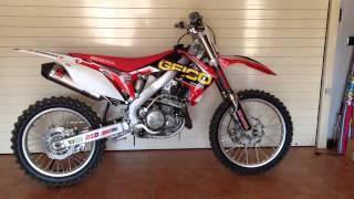 8. Honda CRF 450R 2009