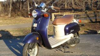9. 2002 Yamaha Vino Scooter Tour, Engine Startup & Exhaust
