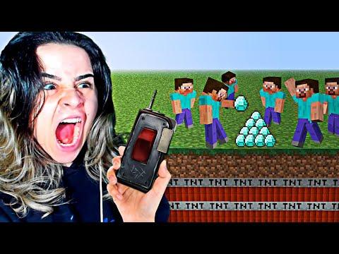 usei Trollagem com 1000 fãs no Minecraft!