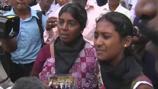 PM mobbed by grieving Tamil mothers