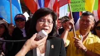 Network Of Thais Overseas, Los Angeles Condemned Yingluck Shinawatra Government 2013-12-1