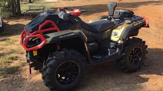 9. 2019 Outlander XMR 1000 Off Road and Mudding