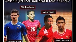 """Download Video Nasib 4 Pemain Jebolan Luar Negeri yang """"Hilang"""" Tidak kepake Timnas Indonesia MP3 3GP MP4"""