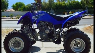 8. 2011 Yamaha Raptor 250 Light Weight For Sale www.samscycle.net