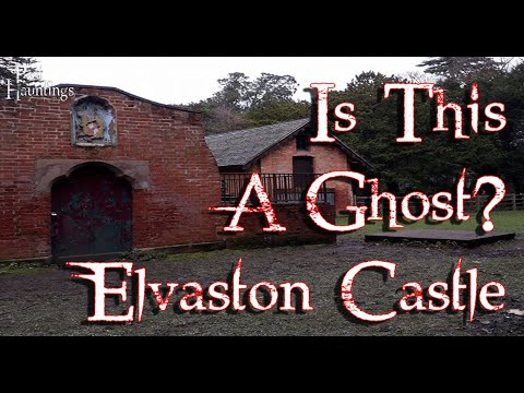 WTF is this! Possible ghost at elvaston castle derbyshire england
