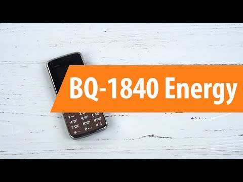 Распаковка BQ-1840 Energy / Unboxing BQ-1840 Energy (видео)