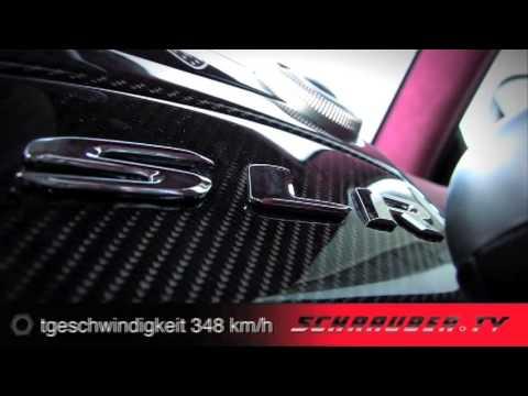 Hamann SLR Volcano -   Der Mercedes SLR Volcano von Hamann getunt. Mit 700 Ps von 0 auf 100 Km/h in nur 3,6 Sekunden und einer Höchstgeschwindigkeit von...