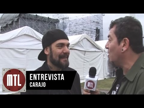 Carajo video Entrevista MTL - Monsters of Rock 2015