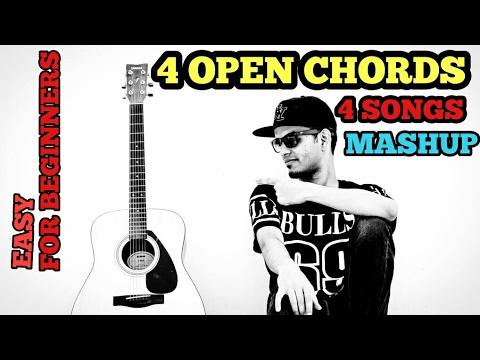 Video Channa Mereya | Closer | Zaalima | Kabira Mashup Cover Guitar Lesson | 4 Open Chords | Arijit Singh download in MP3, 3GP, MP4, WEBM, AVI, FLV January 2017