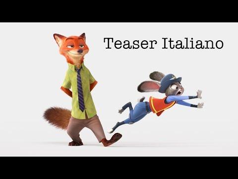 Preview Trailer Zootropolis, teaser italiano
