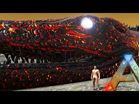 Ark Survival Evolved - TITANS OF ARK (Ark Mega Bosses Gameplay)