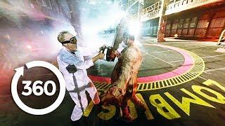 """بالفيديو.. تجربة مواجهة الـ""""زومبى"""" بزاوية 360 درجة"""