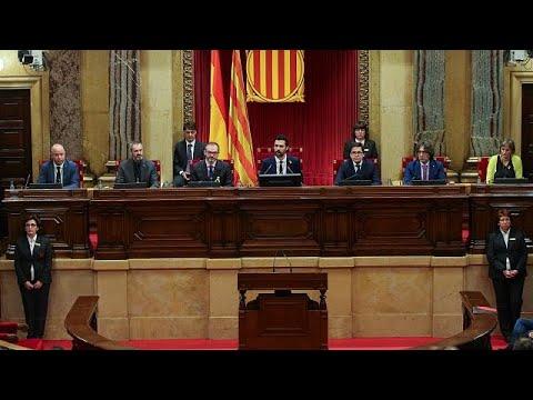Οι επόμενες κινήσεις για το καταλανικό κοινοβούλιο