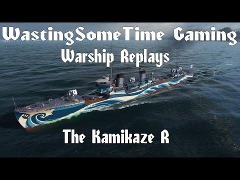 Kamikaze R World of Warships replay from SuzumiyaHaruhiz