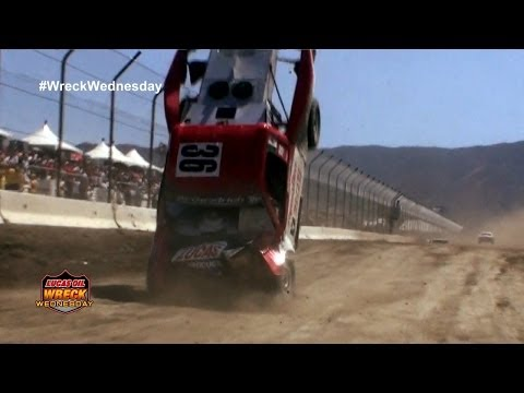 Off Road Truck goes ballistic in Lake Elsinore - WW #37