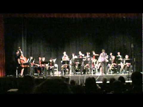 Net als JD's Jingle Bells Big Band speelt het SHSE Jazz Ensemble het arrangement van John Denton:
