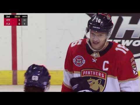 Video: Ottawa Senators vs Florida Panthers | NHL | NOV-11-2018 | 18:00 EST