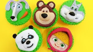 """MASHA and The Bear CUPCAKES Decorating with Fondant by Cakes StepbyStepIf you like Masha I have another cake decorating video here:MASHA and the Bear Chocolate Cakehttps://youtu.be/yRyBRErCR4QTo stay up to date with my latest videos, make sure to SUBSCRIBE to this YouTube channel (if you are not).To find out more about the items I use, please visit: http://www.cakesstepbystep.com/You can support this channel by sharing my videos. Thank you!*****************FOLLOW ME********************FACEBOOK     https://www.facebook.com/cakesstepbystep/*INSTAGRAM  http://instagram.com/cakesstepbystep/*PINTEREST    http://www.pinterest.com/cakesstepbystep/*TWITTER        https://twitter.com/CakesStepByStep/CakesStepbyStep is about cakes and cupcakes decorating with fondant and buttercream frosting. Also you can watch simple chocolate decoration techniques and cake recipes. Learn with me basic cake decoration techniques which will help you to decórate your own cake masterpiece. HAVE FUN!Music credit:""""Locally Sourced"""" by Jason FarnhamYoutube audio library""""Carefree"""" by Kevin MacLeod https://creativecommons.org/licenses/by/4.0/http://incompetech.com/music/royalty-free/index.html?isrc=USUAN1400037http://incompetech.com/""""Italian Afternoon""""  by Twin Musicom https://creativecommons.org/licenses/by/4.0/http://www.twinmusicom.org/Life of Riley de Kevin MacLeod https://creativecommons.org/licenses/by/4.0/http://incompetech.com/music/royalty-free/index.html?isrc=USUAN1400054http://incompetech.com/"""