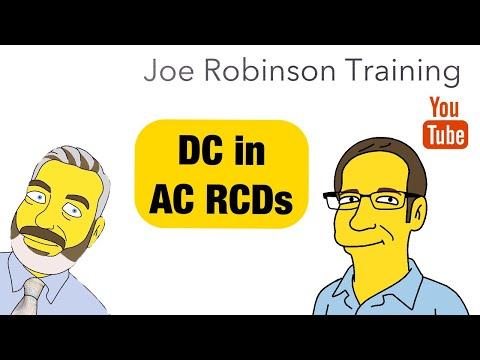 DC in AC RCDs Joe Robinson training on #e5