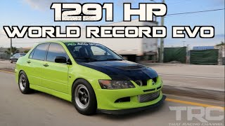 Mitsubishi Evo World Record 1291HP -