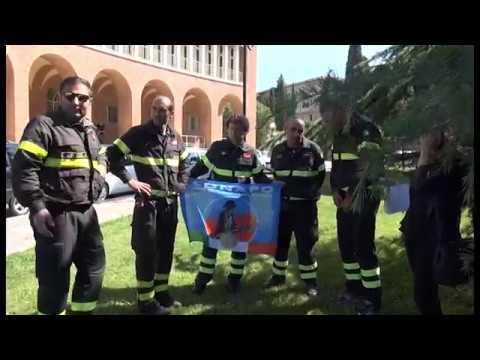 """Arezzo. Sit-in dei Vigili del Fuoco in Prefettura, """"chiediamo parità di trattamento"""""""