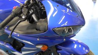 2. 2007 Yamaha YZF- R6S Blue - used motorcycle for sale - Eden Prairie, MN