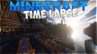 Minecraft Timelapse - Green City | Зеленый Город