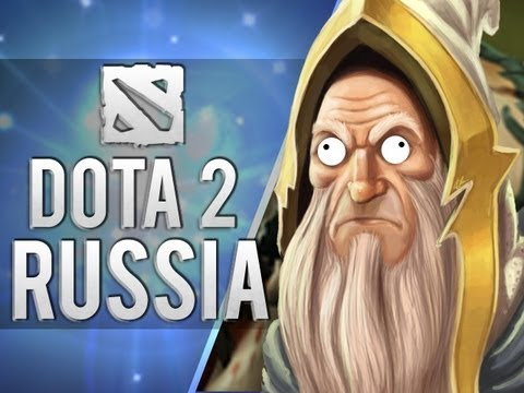 Blending in with the Russians (Dota 2) (видео)