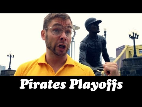 pittsburgh - Dad takes the family to the Clemente statue to celebrate the Pittsburgh Pirates making it to the playoffs after 21 years. Like Pittsburgh Dad on Facebook: ht...