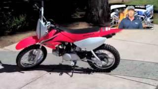 9. 2008 Honda CRF 80