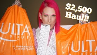 $2500 ULTA DRUGSTORE HAUL  <b>Jeffree Star</b>