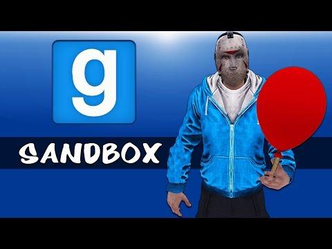 Gmod Ep. 37 Sandbox - Balloon fun!!! Fan-fiction! Epic Race! (Garry's Mod Funny Moments)