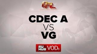 CDEC.A vs VG, game 2
