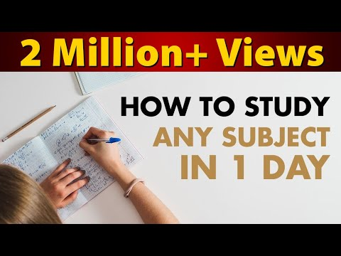 How to Study Any Subject in Just 1 Day Before Board Exam 2020 | Last Minute Revision | LetsTute