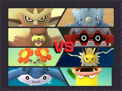 Pokémon GO Gym Battles 2 Gyms Forretress Ursaring Bellossom Noctowl Quagsire Mantine & more
