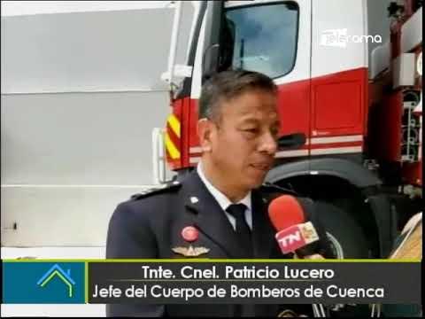 76 años de fundación del cuerpo de bomberos de Cuenca