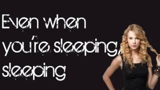 Taylor Swift - Eyes Open (Lyrics On Screen)