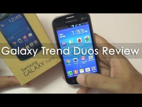 Samsung Galaxy Trend Duos Budget Android  In-depth Review GT-S7392
