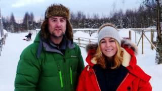 TV presenter and Barnardo's ambassador, Helen Fospero, along with TV astronomer Mark Thompson, take on a series of exhilarating adventures in the Arctic to raise awareness and vital funds for Barnardo's.Their adventure includes igloo building, cross-country skiing, snow-shoeing and husky-sledding, all while battling against the elements in sub-zero conditions.If you're up to the challenge and want to be a part of something special - all to raise funds to support vulnerable children and young people in the UK, then why not join #TeamBarnardos? Find out more by searching #ArcticAdventure on Twitter or visit:  http://www.barnardos.org.uk/arctic-adventure