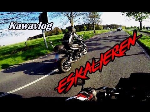 ESKALIEREN | Dualvlog | Kawasaki Z1000 | Webon_one & Friends | Random