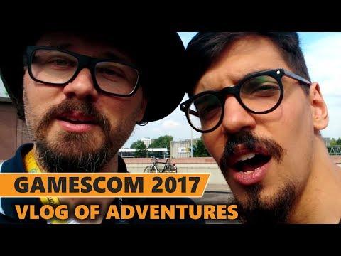 Gamescom 2017 VLOG - Rurikhan & Globku's Adventures!