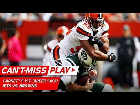 Video: Myles Garrett Gets a Sack on 1st Career Snap! | Can't-Miss Play | NFL Wk 5 Highlights