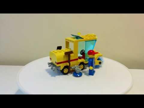 LEGO 6649 spazzatrice - street sweeper